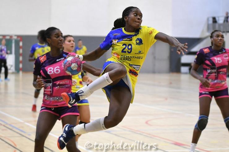 2018-09-21 LFH J06 Metz Handball VS Nantes Atlantique Handball 28-21 (1)