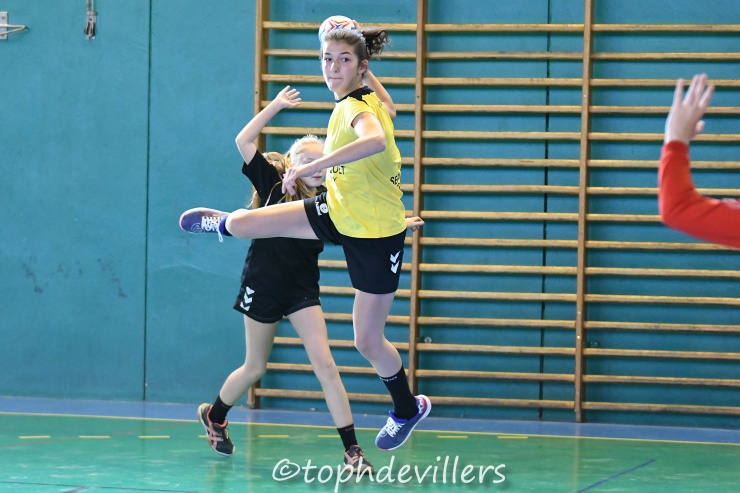 2018-09-29 Region U15F Villers Hb Club VS L.A.S Handball Void-Vacon 23-20 (1)