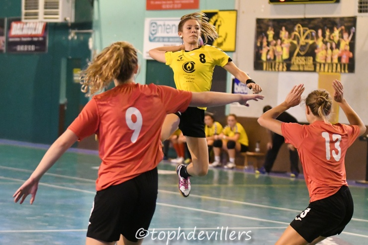 2018-10-06 Region U18F Villers Hb Club VS Toul Handball Club 36-15 (1)