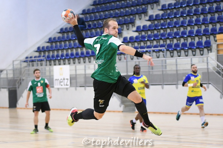 2018-10-07 N2G J03 Metz Handball Nationale 2 VS Villers Hb Club 23-27 (1)