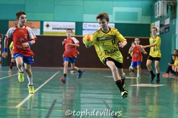 2018-10-07 Region U13G Villers Hb Club VS Amicale Laïque de Neuves-Maisons Handball 19-11 (1)
