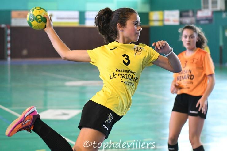 2018-10-13 Region U15F Villers Hb Club VS SL Rambervillers Handball 27-31 (1)