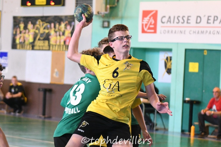 2018-10-13 Region U15G Villers Hb Club VS AS Pagny Handball 28-36 (1)