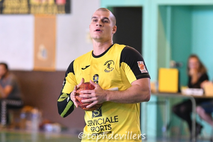 2018-10-14 Excellence SG3 Villers Hb Club VS Bouzonville Handball 24-30 (1)