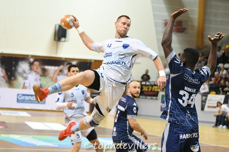2018-10-19 ProD2 J06 Grand Nancy Métropole Handball VS Saran loiret handball 26-26 (1)