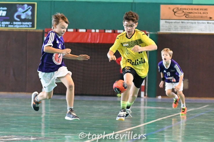 2018-10-20 Region U13G2 Villers Hb Club VS Jarville 28-13 (1)