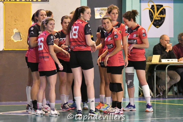 2018-10-27 PN SF2 ENT-VILLERS-FFR VS Hadol HandBall Club 23-19 (1)
