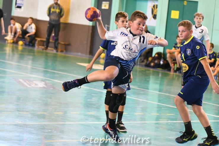 2018-10-27 Tournoi U13G HBC St Nicolas de Port VS BMHB - Bassin Mussipontain Handball 20-12 (1)