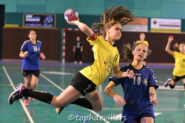 2018-10-28 Amical U15F Villers Hb Club VS epinal handball 22-20 (1)