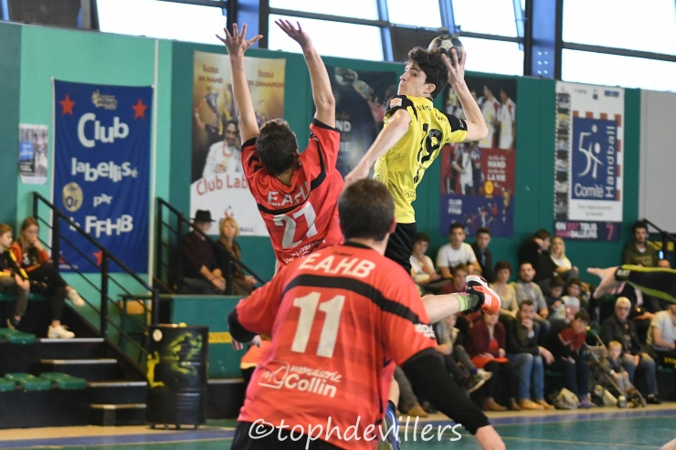 2018-11-11 Excellence SG3 Villers Hb Club VS VARENNESCLERM. 28-27 (1)