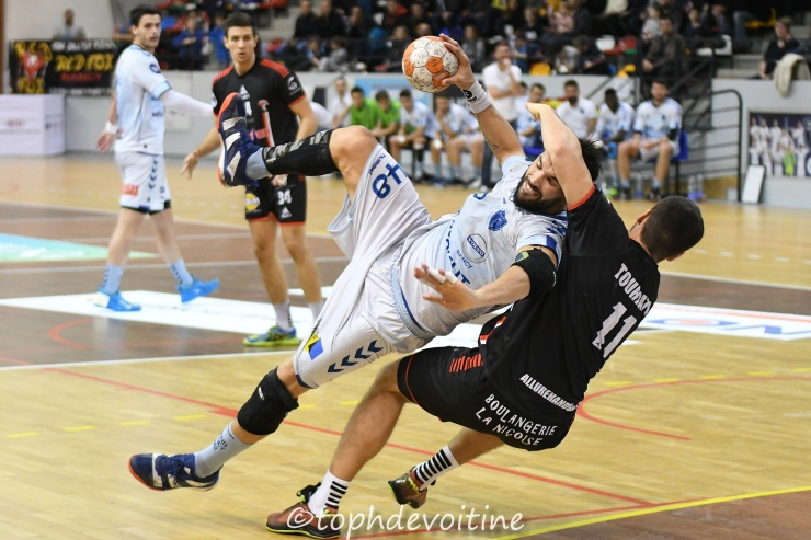 2018-11-23 ProLigue J10 Grand Nancy Métropole Handball VS cavigal nice handball 31-25 - BeHand (1)