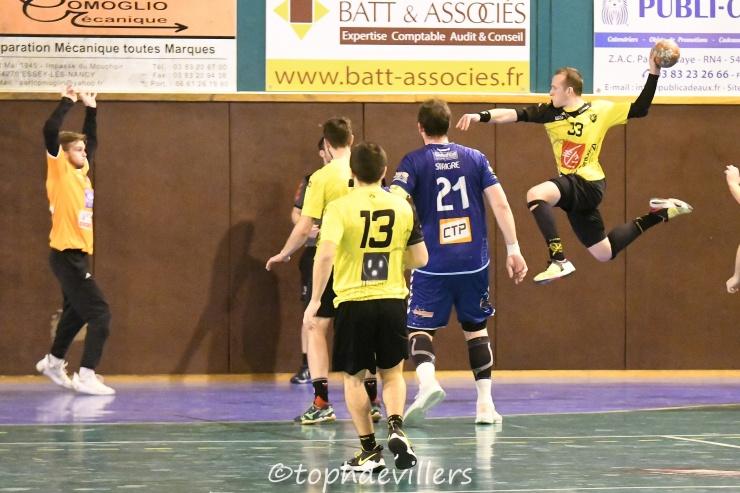 2018-11-24 N2G J08 SG1 Villers Hb Club VS saint brice courcelles handball 31-31 (1)