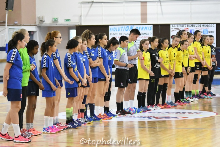 2018-11-25 Region U15F Epinal VS Villers Hb Club 13-35 (0)
