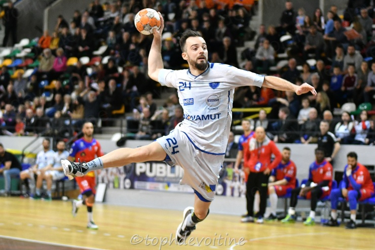2019-02-08 ProLigue J15 Grand Nancy Métropole Handball VS SMV Handball - Officiel 28-27 (1)