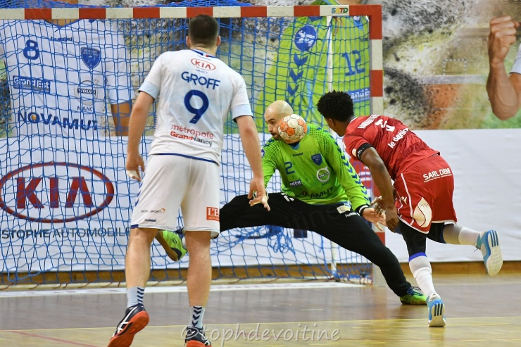 2019-2-23 ProLigue J17 Grand Nancy Métropole Handball VS Grenoble SMH Métropole Isère Handball 28-25 (1)