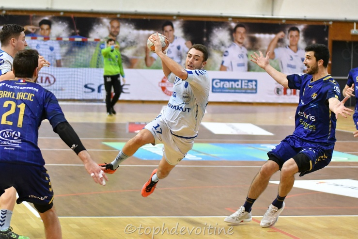 2019-03-06 ProLigue J19 Grand Nancy Métropole Handball VS massy essonne handball 29-36 (1)
