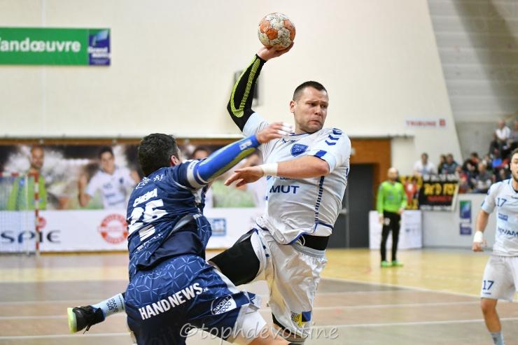 2019-03-09 CDF Grand Nancy Métropole Handball VS saran loiret handball 33-29 (1)