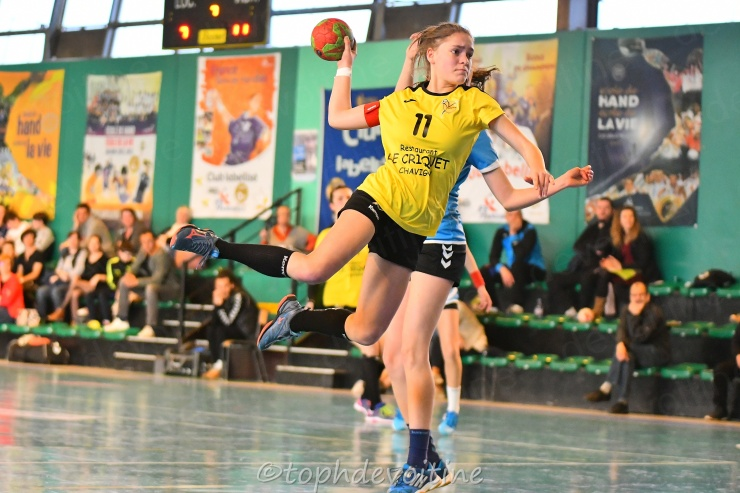 2019-03-23 Region U15F Villers Hb Club VS Yutz 18-32 (1)
