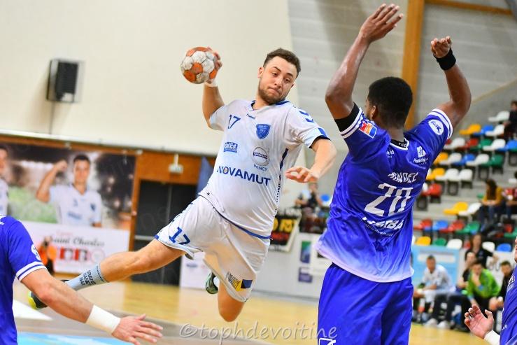 2019-04-03 ProLigue J23 Grand Nancy Métropole Handball VS DMH - Dijon Métropole HandBall 22-21 (1)