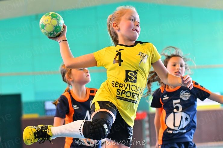 2019-04-06 Coupe54 U11F Villers Hb Club VS P2H 23-18 (1)