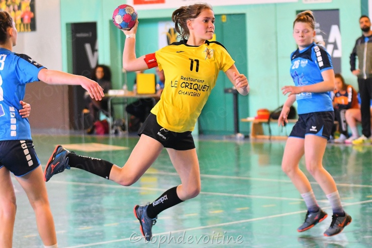 2019-04-06 Coupe54 U15F Villers Hb Club VS BMHB 23-26 (1)
