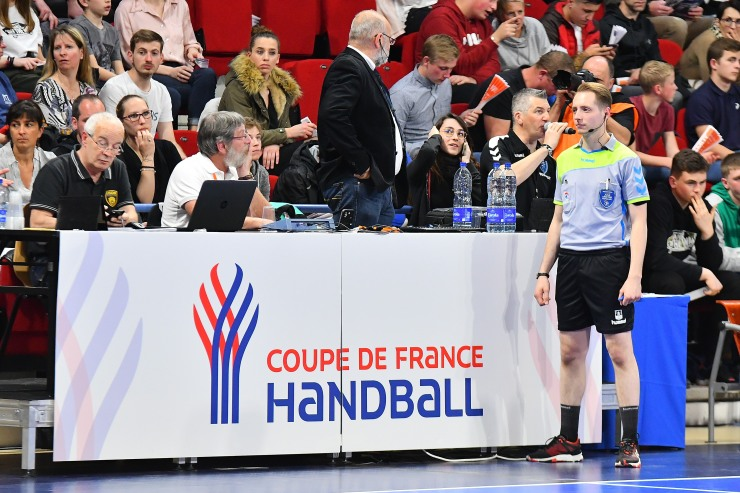 2019-04-07 CDF Grand Nancy Métropole Handball VS USDK Dunkerque Handball Grand Littoral 17-27 coulisse (1)
