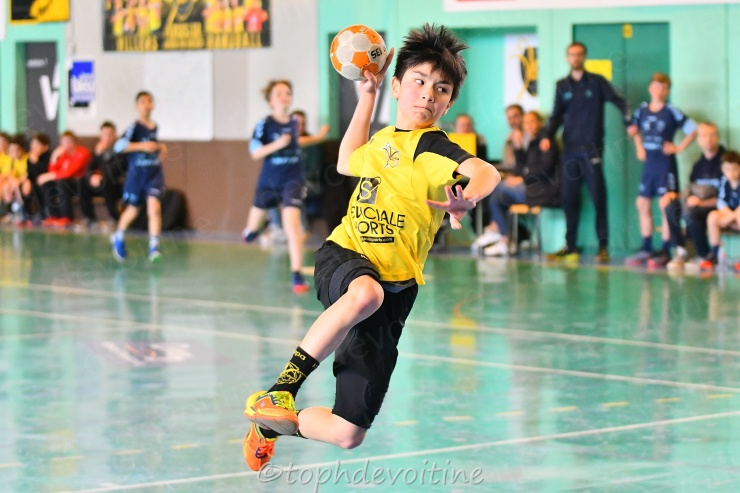 2019-04-07 Coupe54 U13G Villers Hb Club VS Grand Nancy Métropole Handball 39-13 (1)