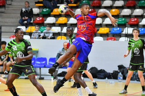 2020-01-04 18G Tournoi U18 Europe Cup Handball PCT VS LGM 23-19 (1)